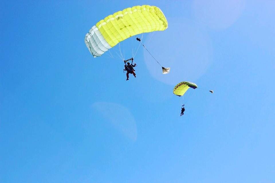 sky diving south africa